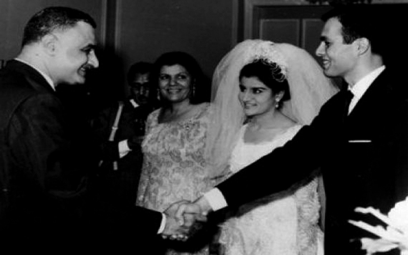 أشرف مروان تزوج ابنة جمال عبدالناصر رغم عدم اقتناع الأخير.  أرشيفية