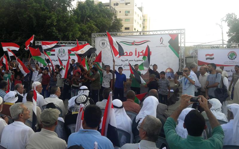 جمهور غفير احتشد في ساحة الجندي المجهول.  الإمارات اليوم