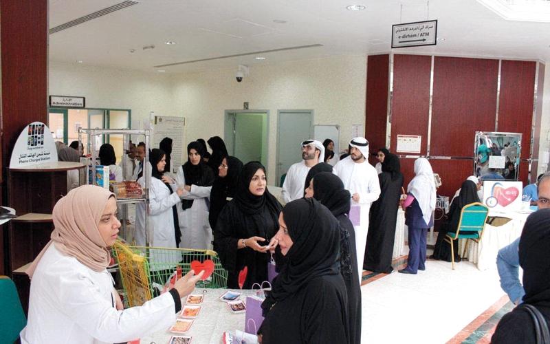 الصورة: 625 مريضاً بالقلب راجعوا مستشفى الكويت خلال 9 أشهر