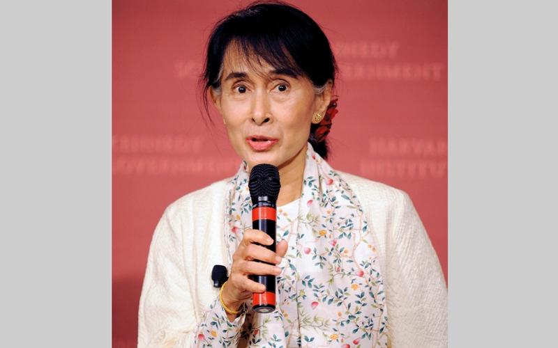 الصورة: سو كي تنتهج سياسة الإقصاء لمسلمي الروهينغا