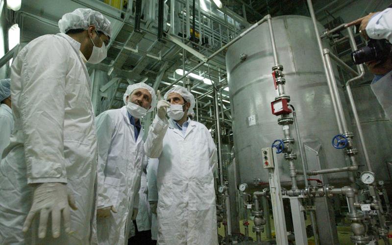 تخصيب اليورانيوم.. سلاح تبتز به إيران الغرب. أرشيفية