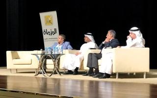 الصورة: خبراء في ندوة «المزماة»: مخاطر السياسة القطرية طالت أمن المنطقة وشـعوبها