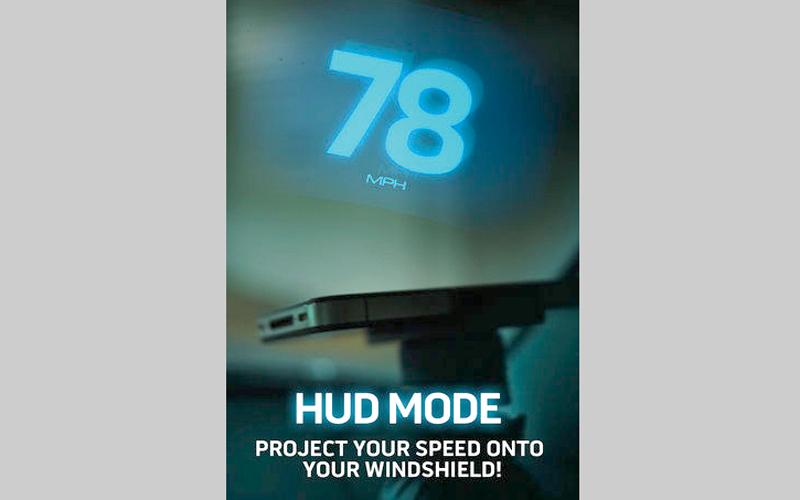 Speedometer + HUD.. لتتبّع سرعة القيادة وعرضها أمام المستخدم