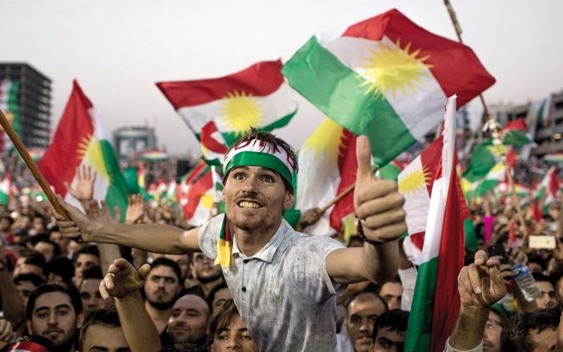 الصورة: أكراد العراق يريدون تحقيق حلم الاستقلال قبل بناء اقتصاد قوي
