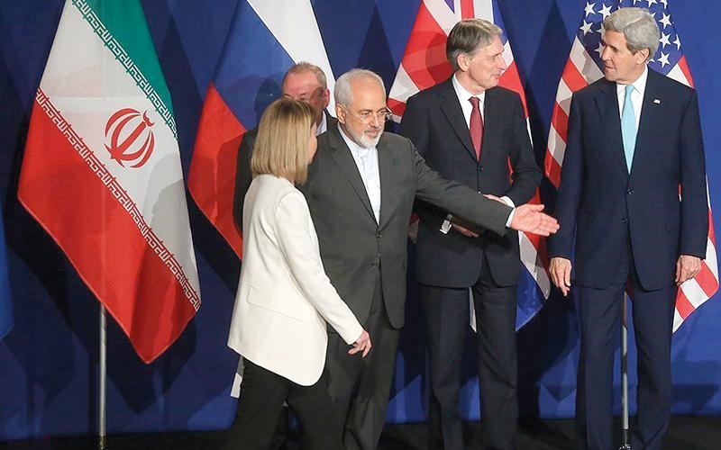 مجموعة «5+1» تساهلت مع إيران وتمسكت بالاتفاق معها.  أرشيفية