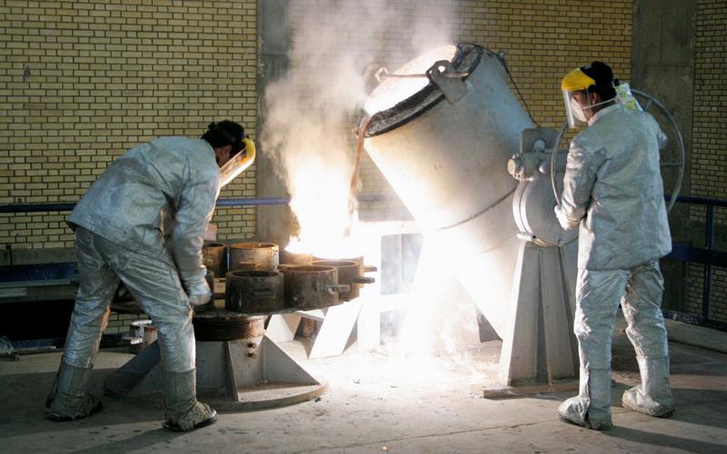تخصيب اليورانيوم خيار إيراني متاح دائماً. أرشيفية