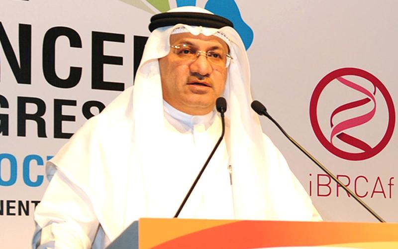 حميد محمد القطامي : أمراض السرطان لاتزال تمثل أكبر التحديات التي تواجهها المجتمعات والشعوب.