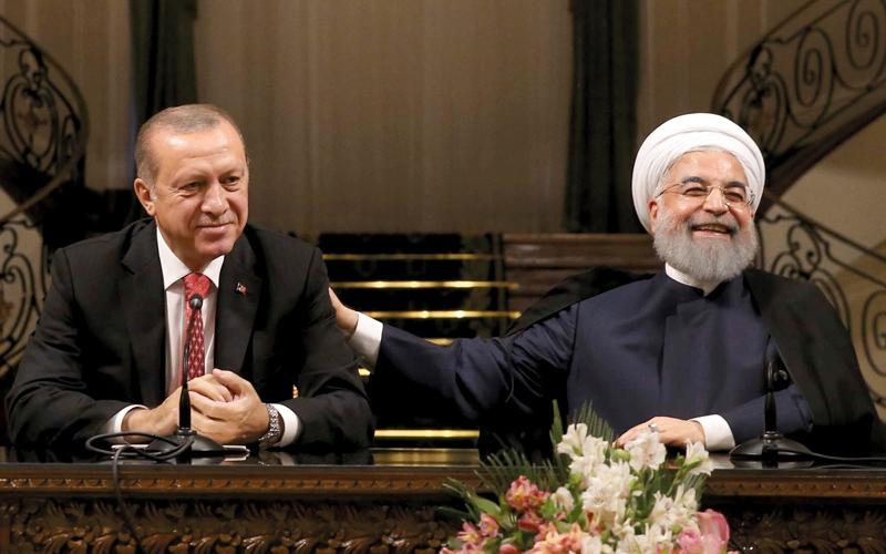 الصورة: تطابق الموقف من كردستان يعزّز التقارب التركي الإيراني