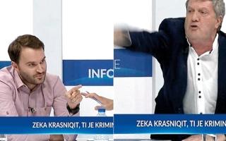 الصورة: مناظرة بين برلمانيين تنتهي باللكمات والقتال العنيف