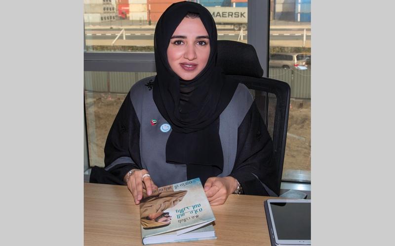 الصورة: أبطال دبي للسعادة..حمدة القاسم: الطريق إلى السعادة يبدأ بالطمأنينة والدافع والإرادة