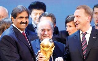 الصورة: «بي بي سي»: سحب تنظيم كأس العالم من قطر أمر وارد