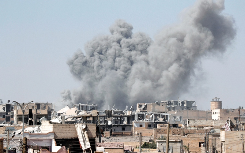 الصورة: خلافاً لتوقّعات خبراء.. القضاء على «داعش» سابق لأوانه