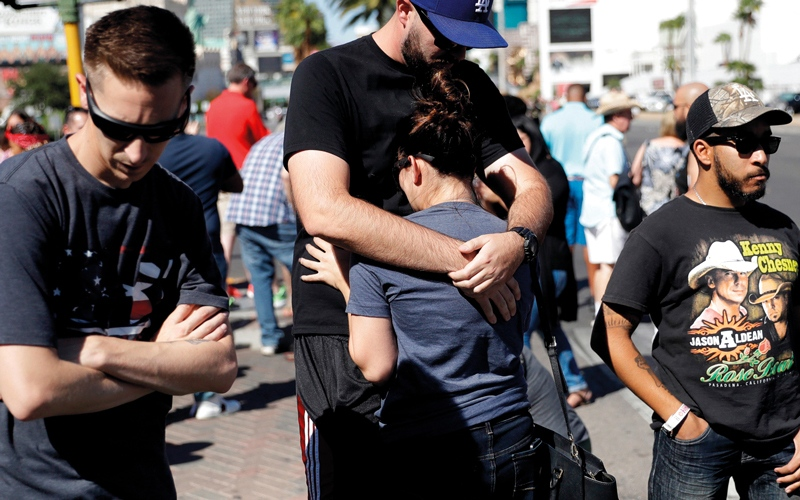 الصورة: إطلاق النار في أميركا مستمر ما لم تتخذ إجراءات صارمة