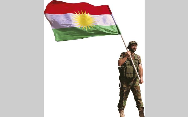 الصورة: غرافيك.. «دولة» كردستان العراق المنتظرة.. «جـزيــرة» معزولة محاطة بالأعداء