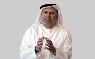 الصورة: قرقاش: على قطر أن تطرق باب الرياض وستجد الحل لأزمتها