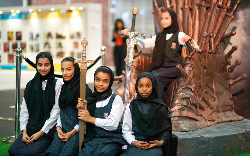 «الشارقة السينمائي للطفل» يسعى إلى تعزيز الثقافة البصرية لدى الأطفال والشباب.  من المصدر