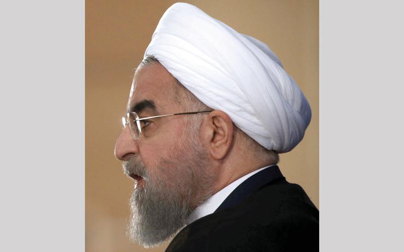 روحاني كان أكثر اعتدالاً  ومعقولية من ترامب.  أ.ب