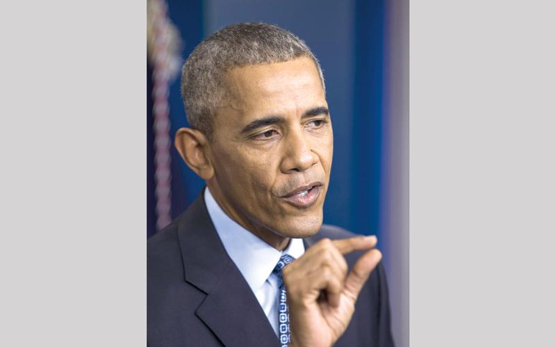 أوباما تجاهل توسع إيران في المنطقة لمصلحة التوصل إلى الاتفاق النووي معها.  أرشيفية