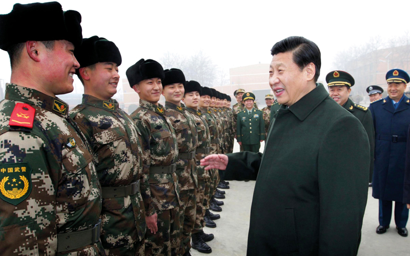 الرئيس الصيني يسعى إلى إحكام القبضة على المشهد السياسي في بلاده. أرشيفية