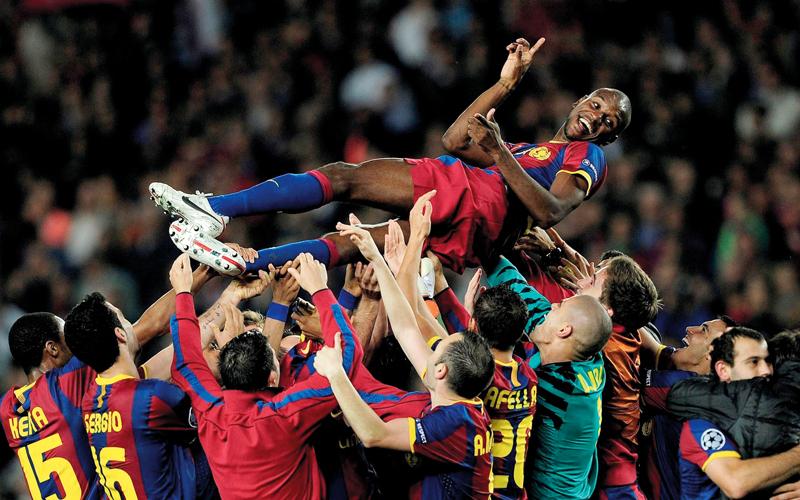 أبيدال حظي بتقدير واحترام نادي برشلونة حتى موعد رحيله عن الفريق. أرشيفية