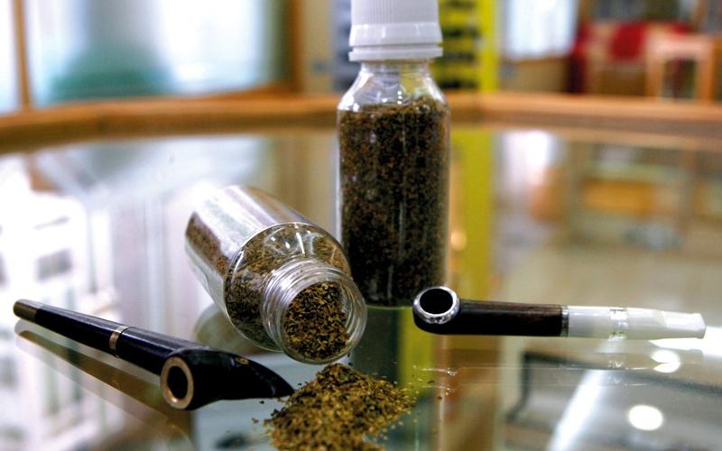 الصورة: مواصفات جديدة لتبغ «الدوخة» للحد  من تداوله العشوائي