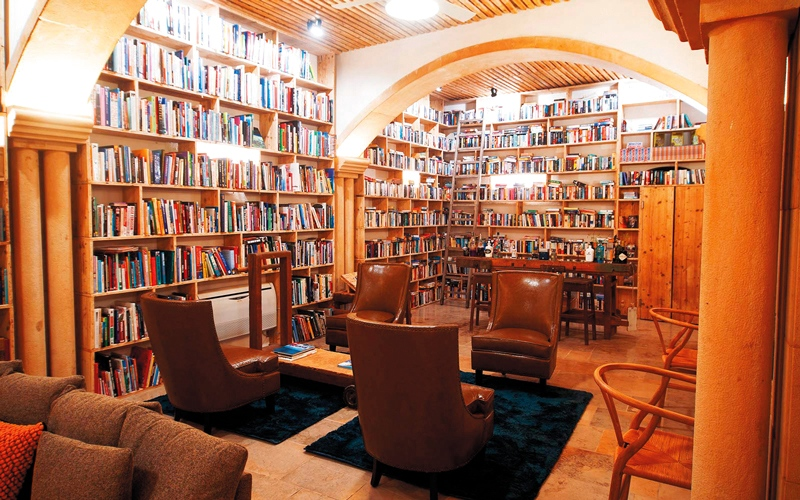 الصورة: فندق مخصص لقراءة الكتب  في البرتغال