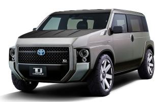"""الصورة: تعرف إلى """"Tj Cruiser"""" السيارة الاختبارية الجديدة من تويوتا"""