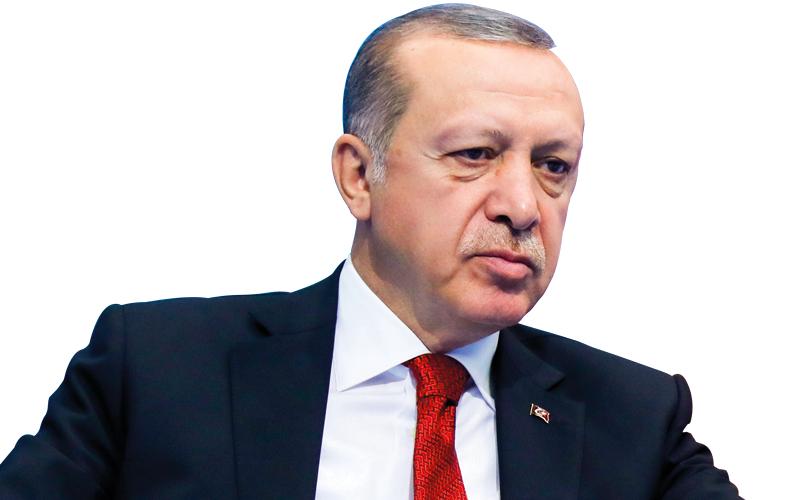 تغير المشهد السياسي داخل تركيا جعل من الصعوبة بمكان على أردوغان الاستمرار في دعم إقليم كردستان. أ.ب