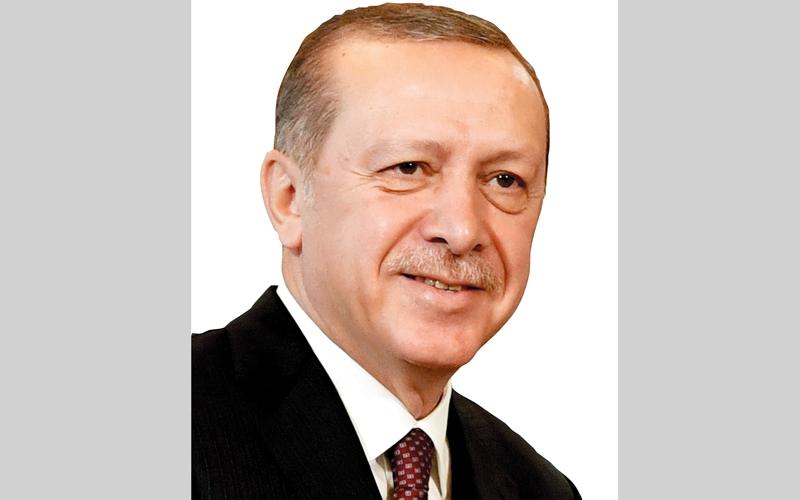 أردوغان يصرح بأن القوات التركية ستكون مدعومة من روسيا. أ.ف.ب