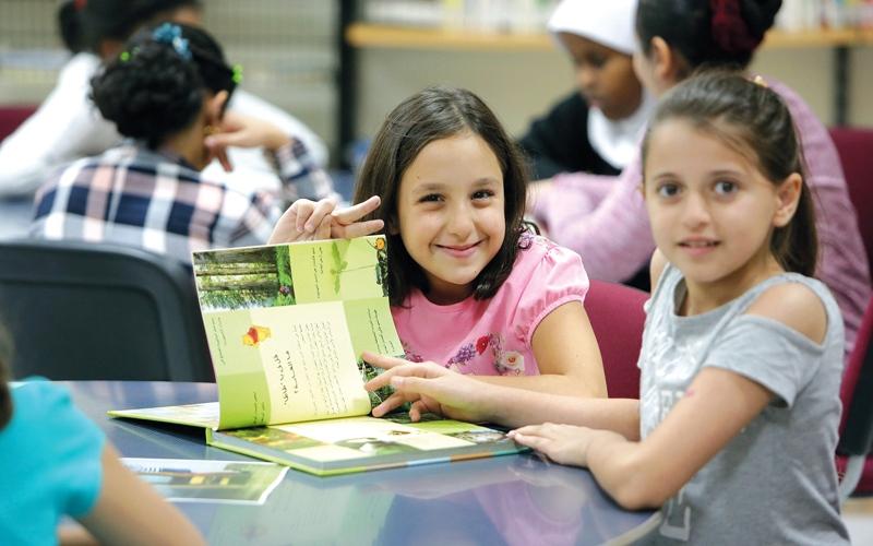 الصورة: مكتبة دبي العامة تعزّز مهارات الصغار الثقافية