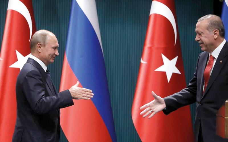الصورة: تزايد التقارب التركي مع روسيا وإيران
