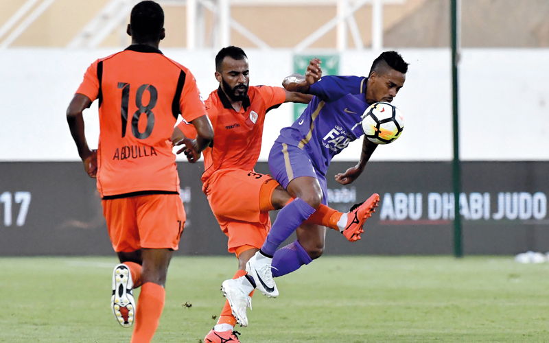 «الدقائق المزعجة» تغتال أحلام عجمان في الدوري 4 مرات - الإمارات اليوم