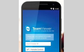 الصورة: TeamViewer for Remote Control.. التحكم في أجهزة فريق العمل عن بُعد