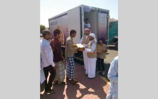 الصورة: 55 ألف وجبة غذائية ضمن   مبادرة «بيت الخير»