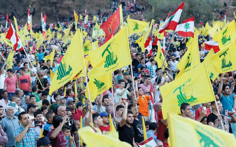 الصورة: تجفيف منابع التمويل الذي يحصل   عليه «حزب الله» ضرورة ملحة