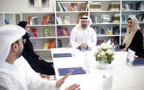 الصورة: القرقاوي: محمد بن راشد يــؤمـــن بأن قوة المعرفة والكتاب ستغير مستقبل الشباب العربي