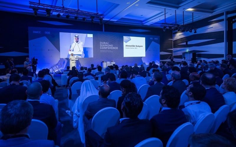 الصورة: تجارة الألماس عبر دبي ترتفع إلى 95 مليار درهم