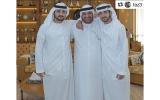 حمدان بن محمد بن راشد يشيد بجهود الشيباني في تطوير منظومة العمل الحكومي في دبي