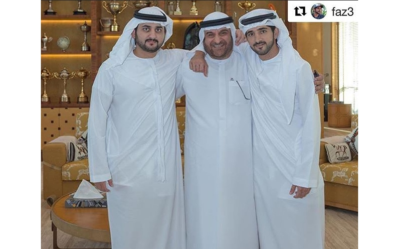 الصورة: حمدان بن محمد بن راشد يشيد بجهود الشيباني في تطوير منظومة العمل الحكومي في دبي