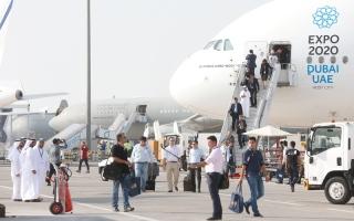 1200 شركة ومؤسسة تشارك في «دبي للطيران» الشهر المقبل