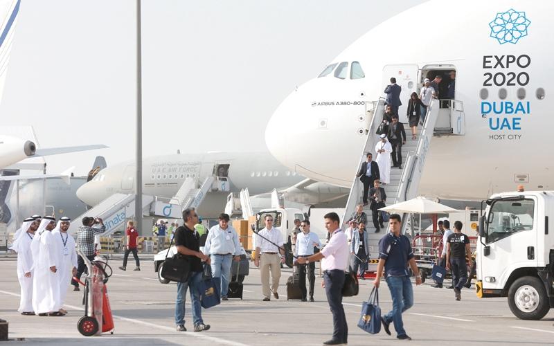 الصورة: 1200 شركة ومؤسسة تشارك في «دبي للطيران» الشهر المقبل