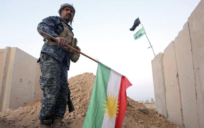 الصورة: الجيش العراقي يفرض سيطرته على حقول نفط كركوك
