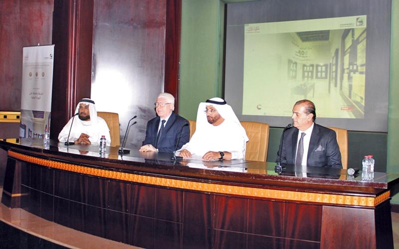 الصورة: جهود «جمعة الماجد» حاضرة في «يوم الوثيقة العربية»