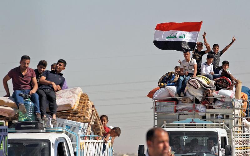 الصورة: العبادي يسند أمن كركوك للشرطة المحلية ويمنع وجود الجماعات المسلحة
