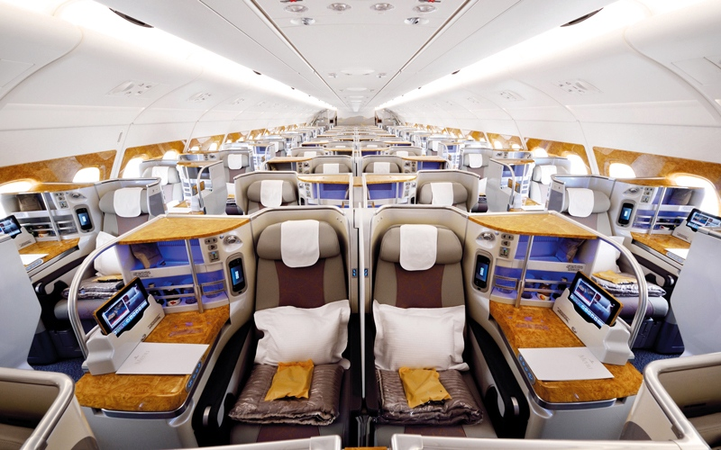 الصورة: «طيران الإمارات» تستقبل الطائرة الـ 100 من طراز «A380» الشهر المقبل