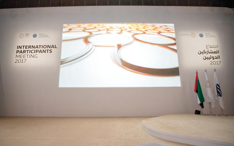 الصورة: «إكسبو 2020 دبي» يطلع 500 ممثل عن 180 دولة على مستجدات التحضير