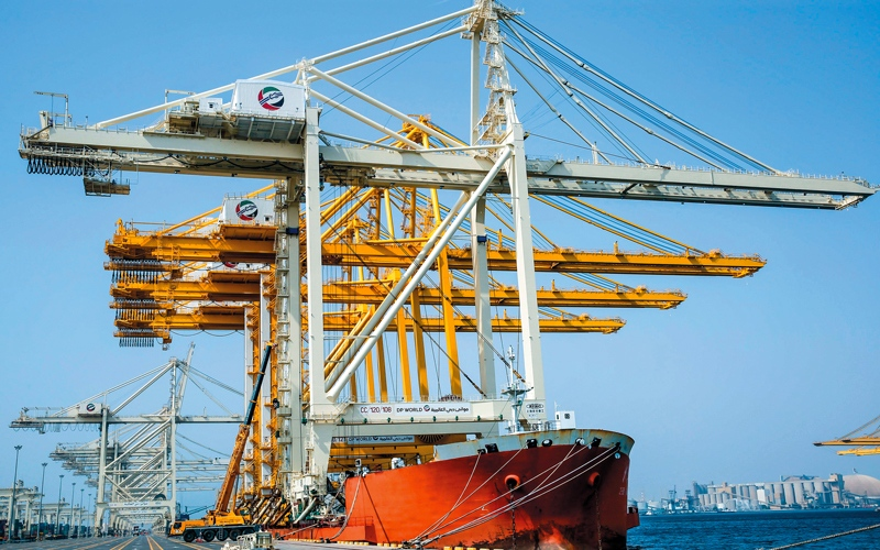 الصورة: توسعة ميناء جبل علي بإضافة 1.5 مليون حاوية نمطية