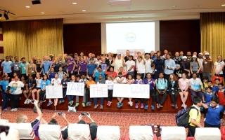 """الصورة: مدارس في دبي تخوض """" تحدي اللياقة البدنية """""""