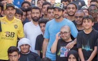 """حمدان بن محمد يفتتح """"تحدي دبي للياقة""""بمشاركة مجتمعية ومؤسسية واسعة"""