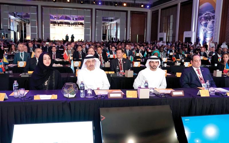 الصورة: «إكسبـــــو 2020 دبي» يبحــث مع وفود من 180 دولة فــرص وأفكار «مـا بعد المعـرض»